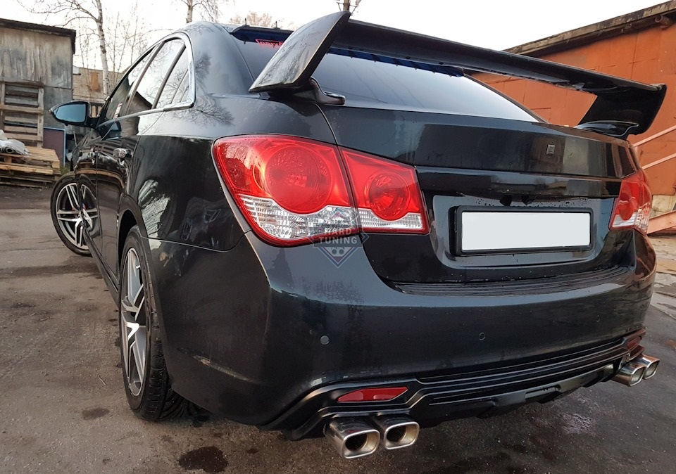 Спойлер SEQUENCE Chevrolet Cruze седан