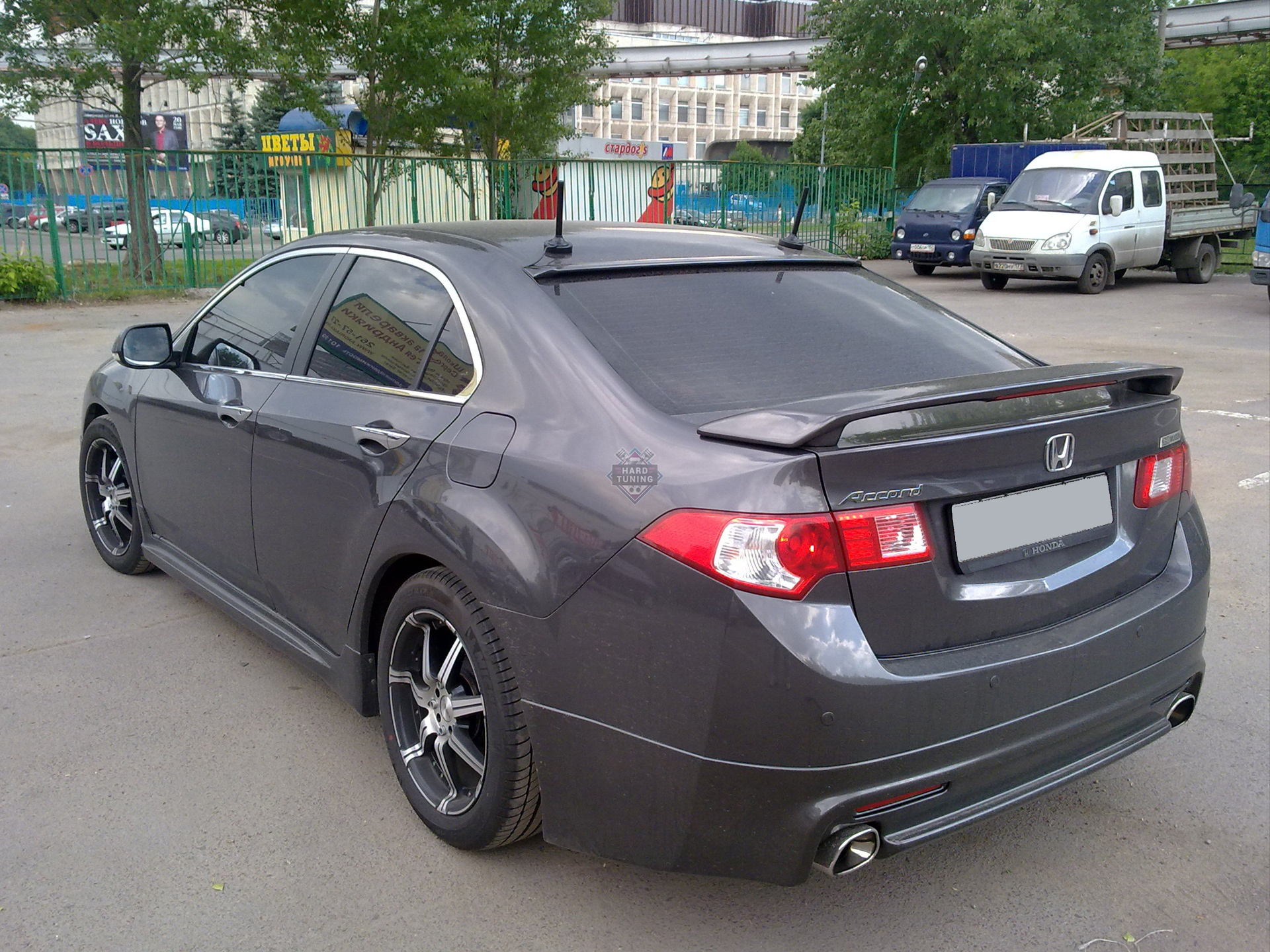 Спойлер MODULO (под стоп-сигнал, в комплект не входит) Honda Accord 8 (2008-2013)