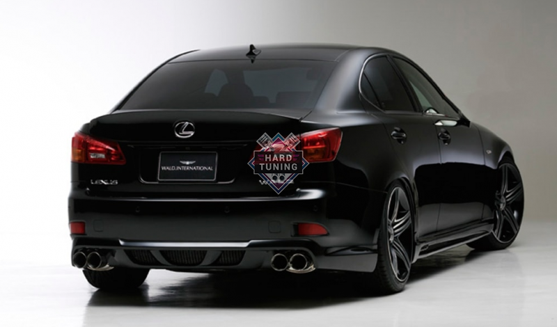 Спойлер WALD SPORTS LINE Lexus IS 250