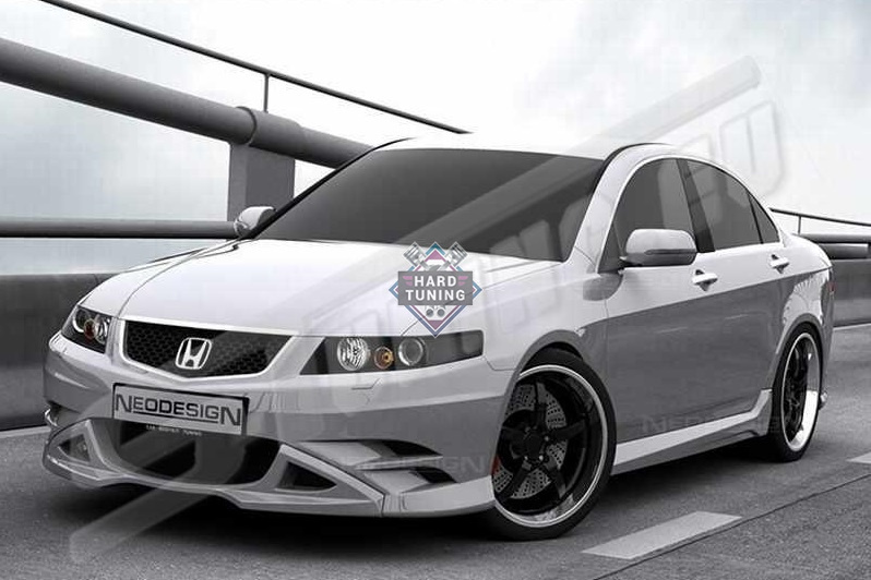 Накладки на пороги Neodesign Honda Accord 7